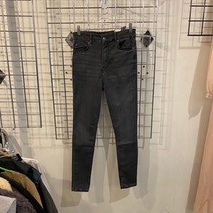 Zara High Waist Skinny Twilight Jeans